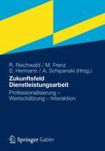 """""""Dienstleistungsfacharbeit"""" – Einleitung zum Herausgeberband"""