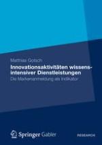 Innovation und Dienstleistung