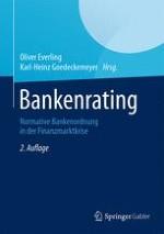 Einleitung: Zukunft des Bankenratings – Bankenrating der Zukunft