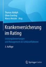 Handlungsorientiertes Rating von Krankenversicherern aus Kundensicht