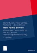 Einleitung – Weiterhin auf dem Weg zu einem New Public Service!?