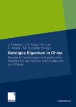 Geistiges Eigentum in China: Der globale, nationale und unternehmerische Kontext