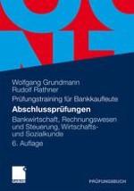 Bankwirtschaft Fälle