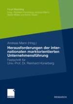 Konzeptionelle Grundlagen und ausgewählte Entscheidungsbereiche der internationalen marktorientierten Unternehmensführung