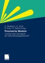 Einstellungen zu Priorisierungen in der medizinischen Versorgung