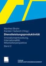 Dienstleistungsproduktivität – Einführung in die theoretischen und praktischen Problemstellungen (Band 2)