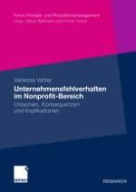 Zur Notwendigkeit der Analyse von Unternehmensfehlverhalten im Nonprofit-Bereich