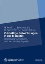 Zukünftige Entwicklungen in der Mobilität - Technische und betriebswirtschaftliche Aspekte - Einordnung