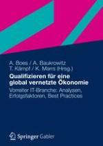 Einführung: Eine global vernetzte ökonomie braucht die Menschen Qualifizierung als strategischer Erfolgsfaktor einer nachhaltigen Globalisierung in der IT-Branche