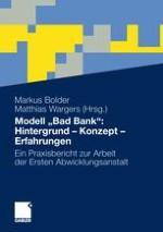 """Banken-, Wirtschafts-, Politikkrise - Wie konnte es so weit kommen? Hintergründe zur Entstehung von """"Bad Banks"""""""