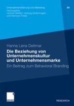 Die Beziehung von Unternehmenskultur und Unternehmensmarke als Herausforderung für das Markenmanagement