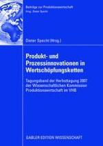 Einsatz einer Wertschöpfungsrechnung zur Erfassung und Bewertung von Produkt- und Prozessinnovationen in Wertschöpfungsnetzwerken