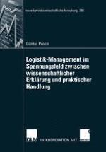 Handlungsfelder im Logistik-Management — Forschungsfrage, Überlegungen zur Forschungskonzeption der Arbeit und Schritte zu ihrer Umsetzung