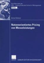 Die Bedeutung und Herausforderung des Pricings von Messeleistungen