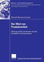 Produktvielfalt und ihre Wirkung: Grundlagen und Zielsetzung der Arbeit