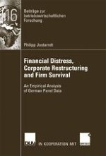 Financial Distress Corporate Control And Management Turnover A