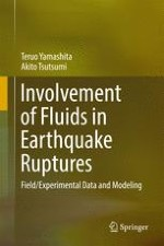Laboratory and Field Evidence for the Involvement of Fluids in Earthquake Faulting