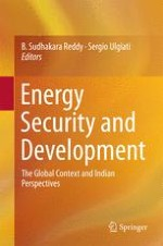 Sustainable Energy Security for India—An Indicator-Based Approach
