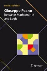 Giuseppe Peano and Mathematical Analysis in Italy