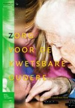 1 Zorg voor de kwetsbare oudere