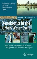 Quantitative Mass Flows of Selected Xenobiotics in Urban Waters and Waste Water Treatment Plants