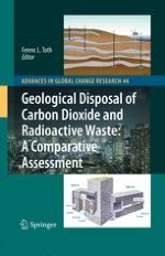 Comparing the Geological Disposal of Carbon Dioxide and Radioactive Waste: Introduction and Overview