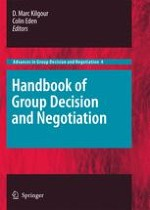 Introduction to the Handbook of Group Decision and Negotiation