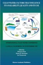 Clean Water: Factors That Influence Its Availability, Quality and Its Use: Summary of the International Water Conference