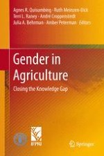 Closing the Knowledge Gap on Gender in Agriculture