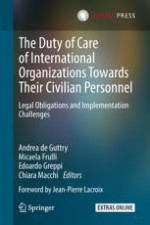 International Organizations and Alleged Duty of Care Breaches: A Growing Ethical, Reputational and Financial Challenge