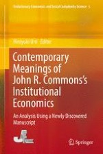 John R Commons And Gunnar Myrdal On Institutional Economics Their Methods Of Social Reform Springerprofessional De