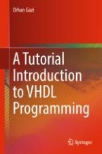 Entity, Architecture and VHDL Operators