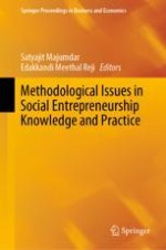 Introduction: Methodological Issues in Social Entrepreneurship Knowledge and Practice