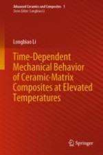 Time-Dependent First Matrix Cracking Stress of Ceramic-Matrix Composites at Elevated Temperatures