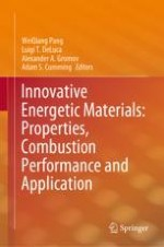 Study of a Concept of Energetic Materials Consisting of a Solid Fuel Matrix Containing Liquid Oxidizer