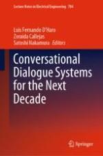 A Character Expression Model Affecting Spoken Dialogue Behaviors