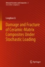 Tensile Damage and Fracture of Ceramic-Matrix Composites Subjected to Stochastic Loading