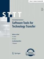International Journal on Software Tools for Technology Transfer 6/2009