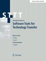 International Journal on Software Tools for Technology Transfer 2/2018