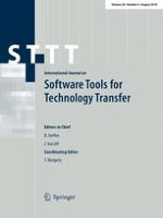 International Journal on Software Tools for Technology Transfer 4/2018