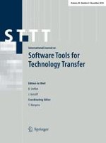 International Journal on Software Tools for Technology Transfer 6/2018