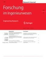 Forschung im Ingenieurwesen 2/2011