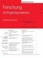 Forschung im Ingenieurwesen 1-2/2015