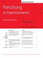 Forschung im Ingenieurwesen 3-4/2015