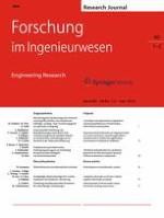 Forschung im Ingenieurwesen 1-2/2016