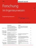 Forschung im Ingenieurwesen 4/2017