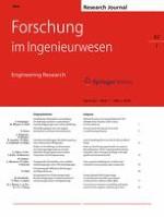Forschung im Ingenieurwesen 1/2018