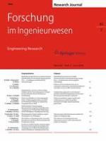 Forschung im Ingenieurwesen 2/2018