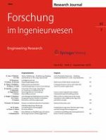 Forschung im Ingenieurwesen 3/2018
