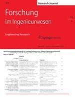 Forschung im Ingenieurwesen 4/2018
